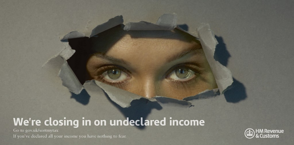 undisclosed income